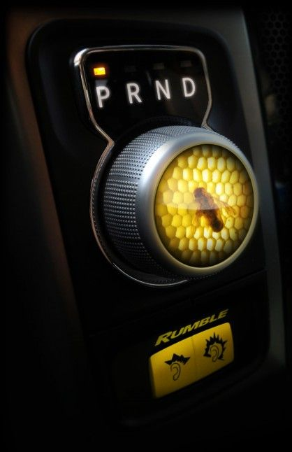 Honeycomb dial in the new 8-speed transmission Rumble Bee