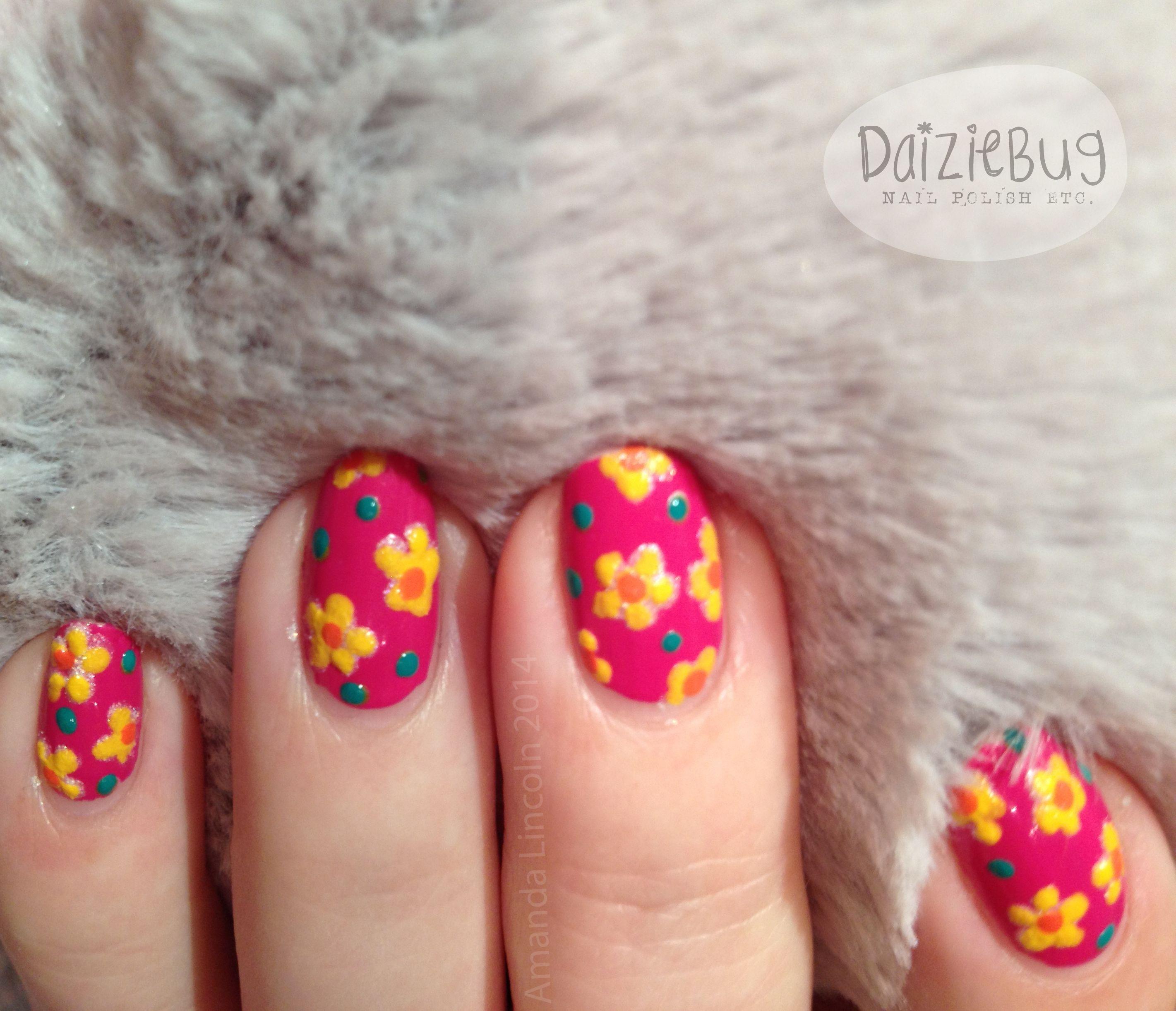 Spring Flower Nails Httpsfacebookdaiziebugnails Https