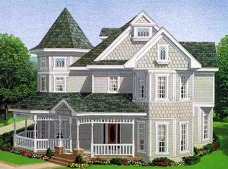 Plan 1928GT: Classic Victorian Design