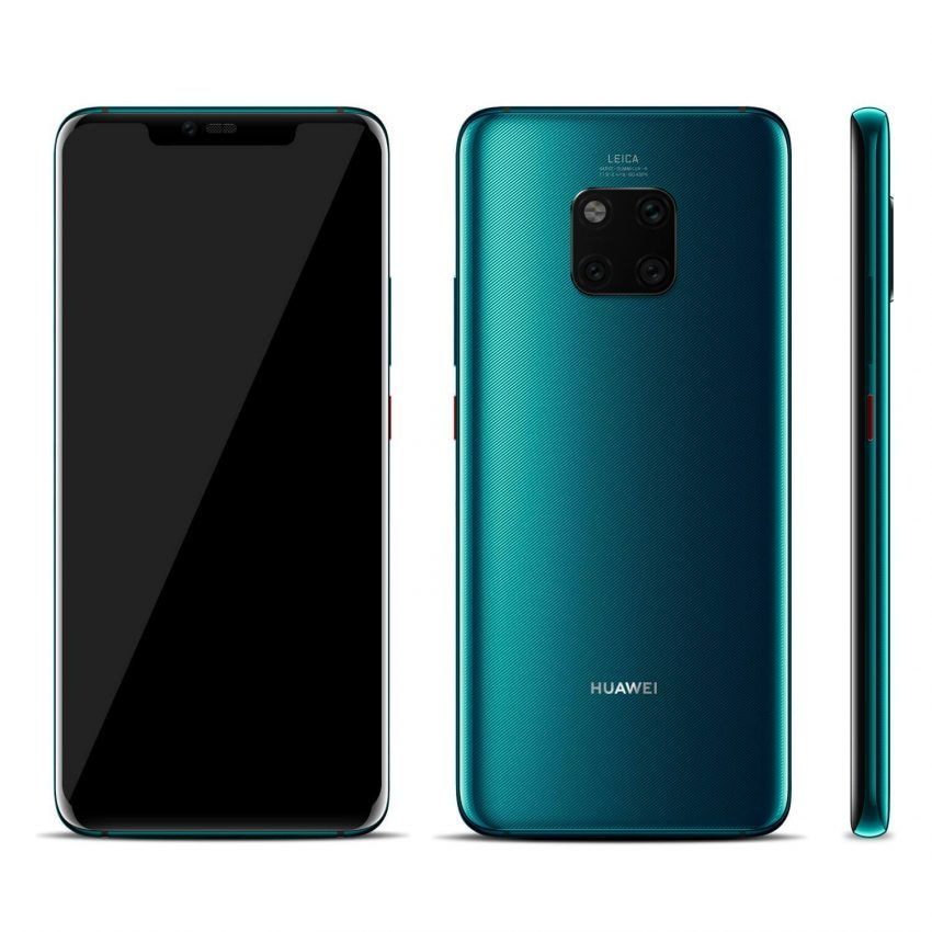 This Is The Huawei Mate 20 Pro And On Paper It Promises A Lot A Bright Curved Screen A Fully Equipped Triple Camer Custom Phone Skins Huawei Phone Stand Design
