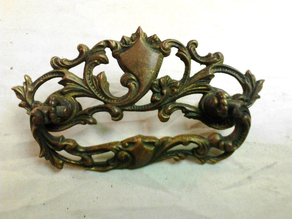 Vintage Victorian Style No 378 Cast Brass Drawer Pull Grb Co Brass Drawer Pulls Drawer Pulls Victorian Fashion