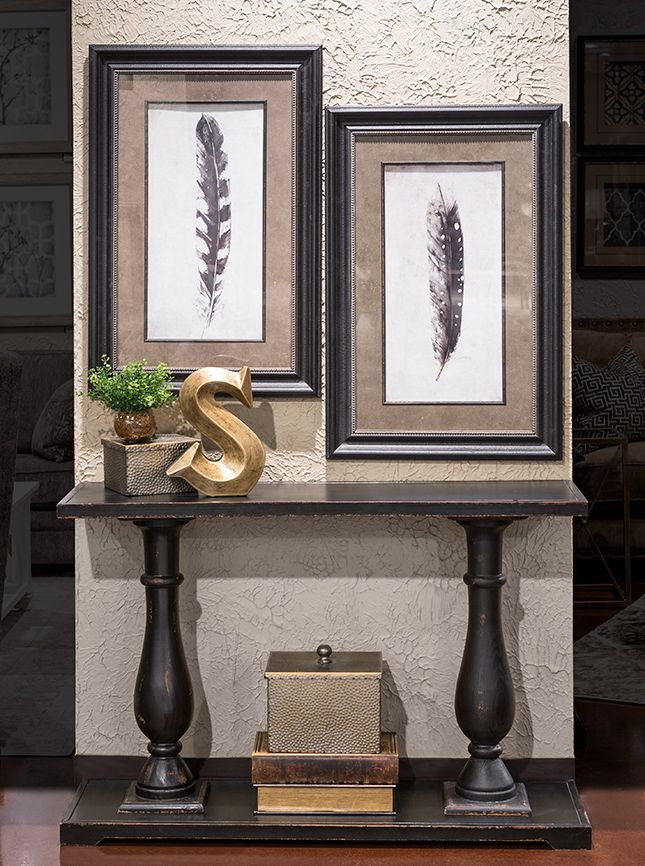 Hemispheres A World Of Fine Furniture Double Pedestal Accent Table