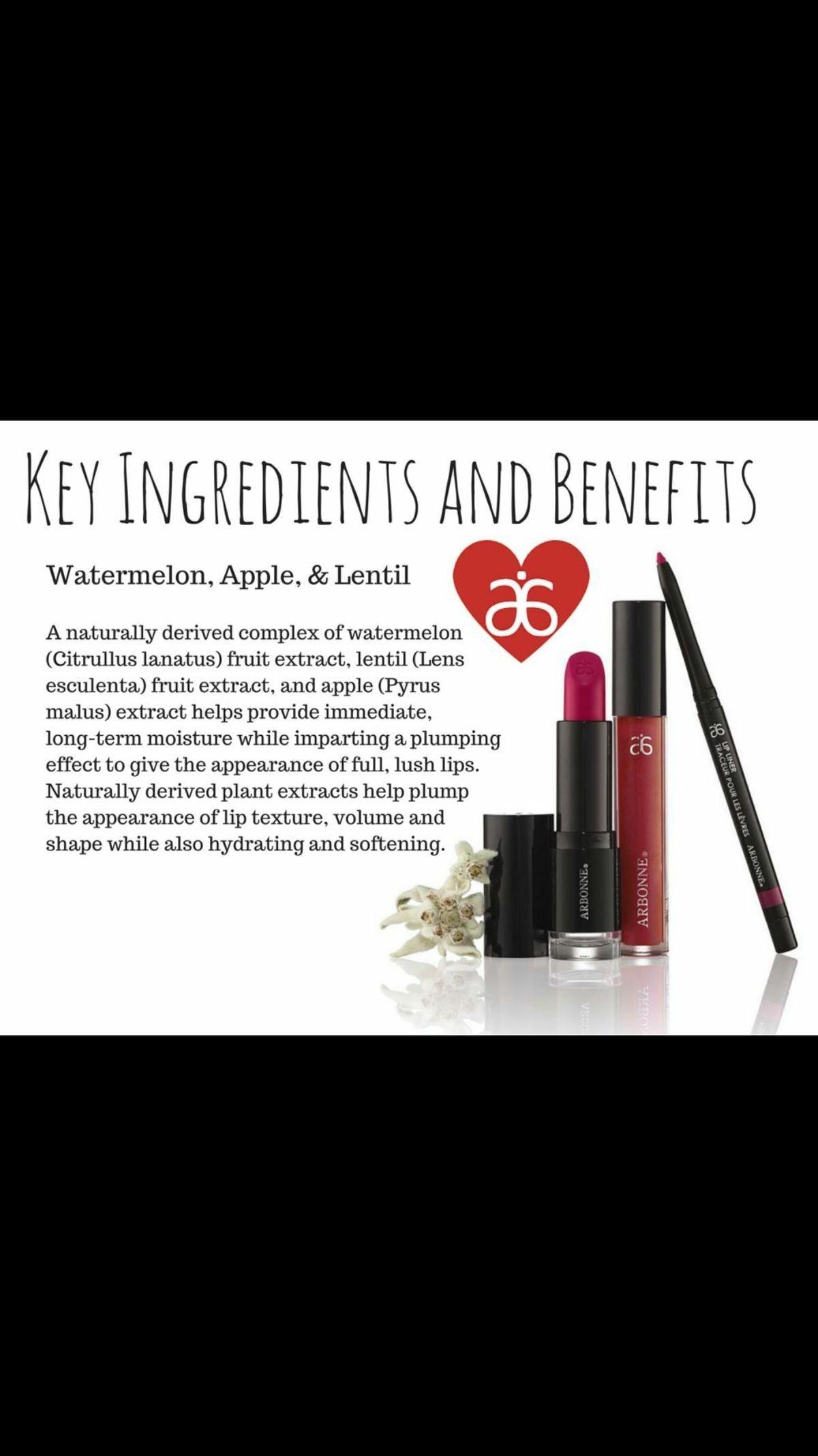 Arbonne Smoothed Over Lip Stick Arbonne Glossed Over Lip Gloss Arbonne Lip Pencil All Natural Ingredients Interes Arbonne Cosmetics Arbonne Makeup Arbonne