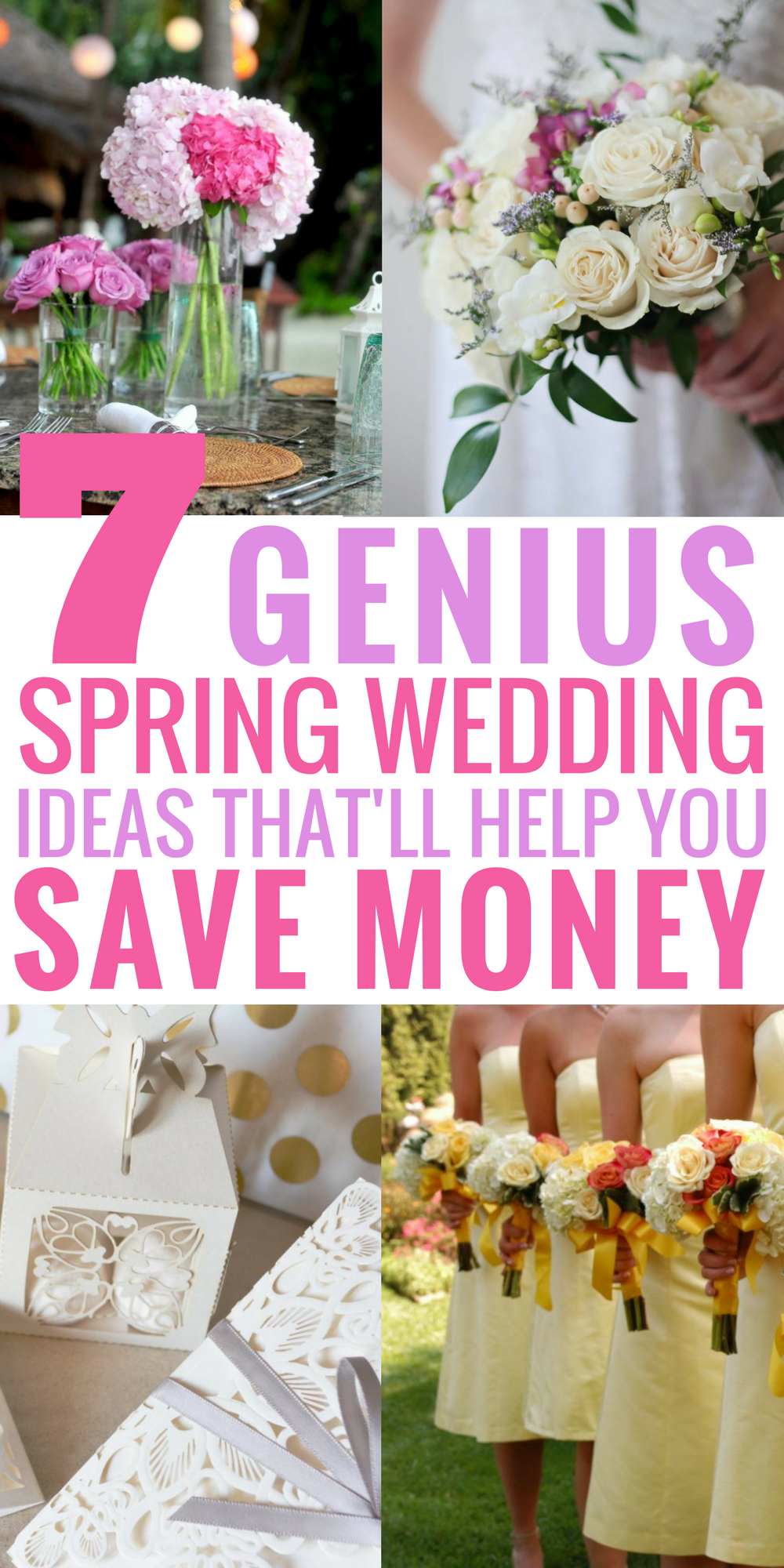These spring wedding ideas are absolutely AMAZING! I love how the ...