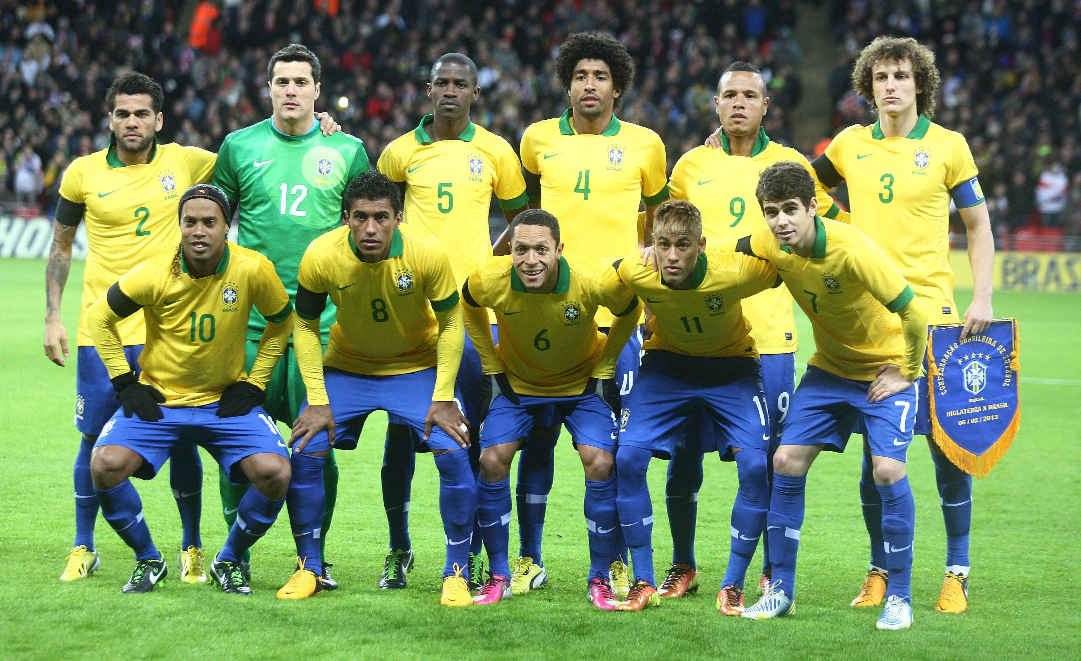 Brazil National Football Team Wallpaper 3660x2238 Px Free Download Team Wallpaper National Football Teams Brazil Football Team