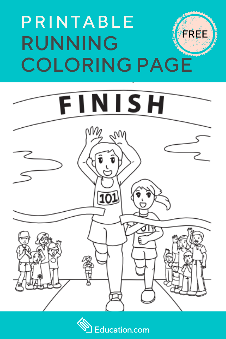 Running Worksheet Education Com Cool Coloring Pages Coloring Pages Education Com