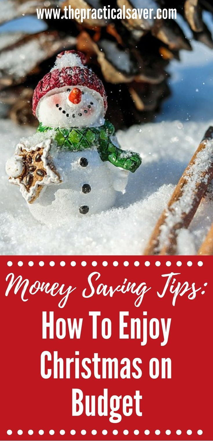 How To Enjoy Christmas On Budget Christmas Savings Christmas On A Budget Budgeting