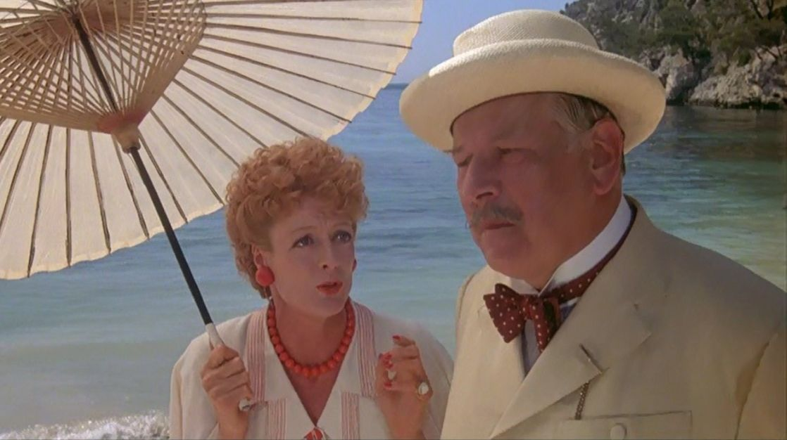 Pin By Abel On Ustinov Evil Under The Sun Maggie Smith Crime Film