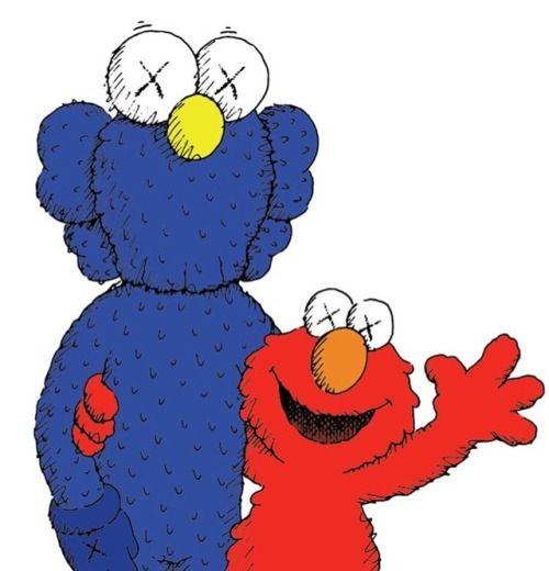 eaa1272bc42 KAWS x Uniqlo UT  Sesame Street