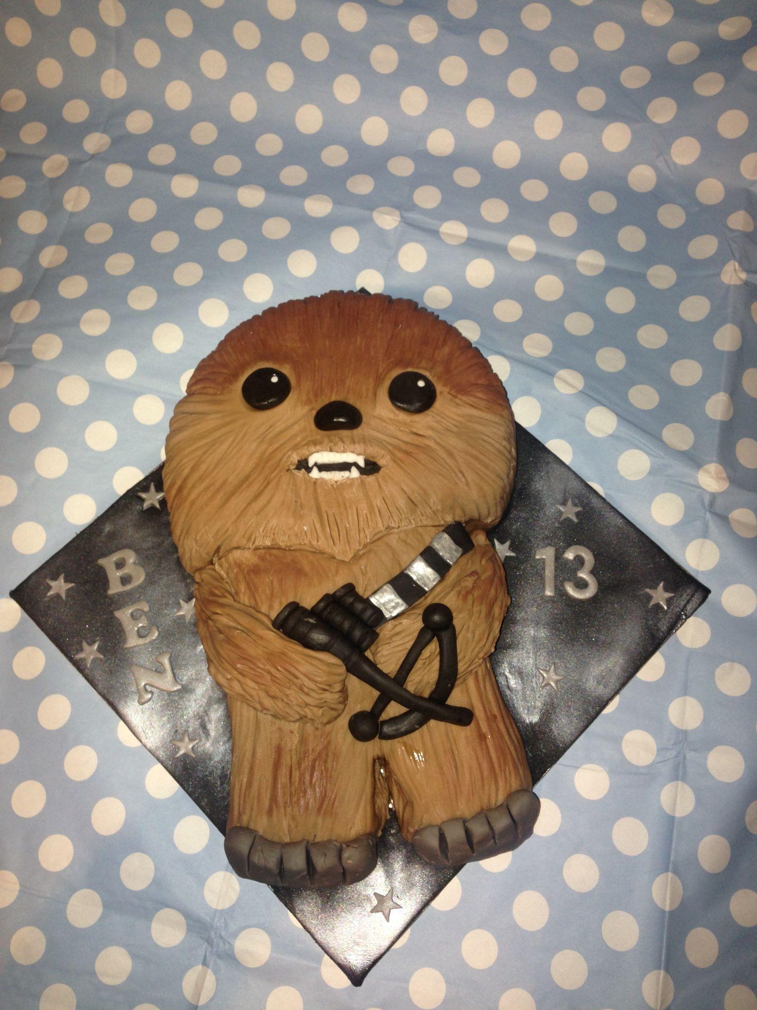 Chewbacca funko pop cake chewbacca cake star wars party