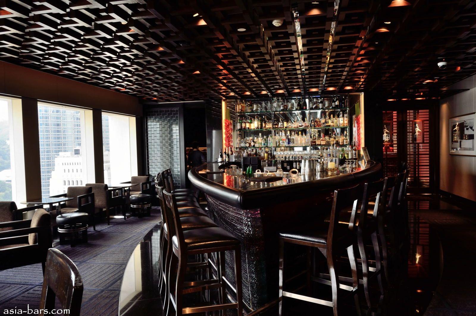 M Bar At Mandarin Oriental Hong Kong Elegant Bar Serves With  # Muebles Dettaglio Condesa