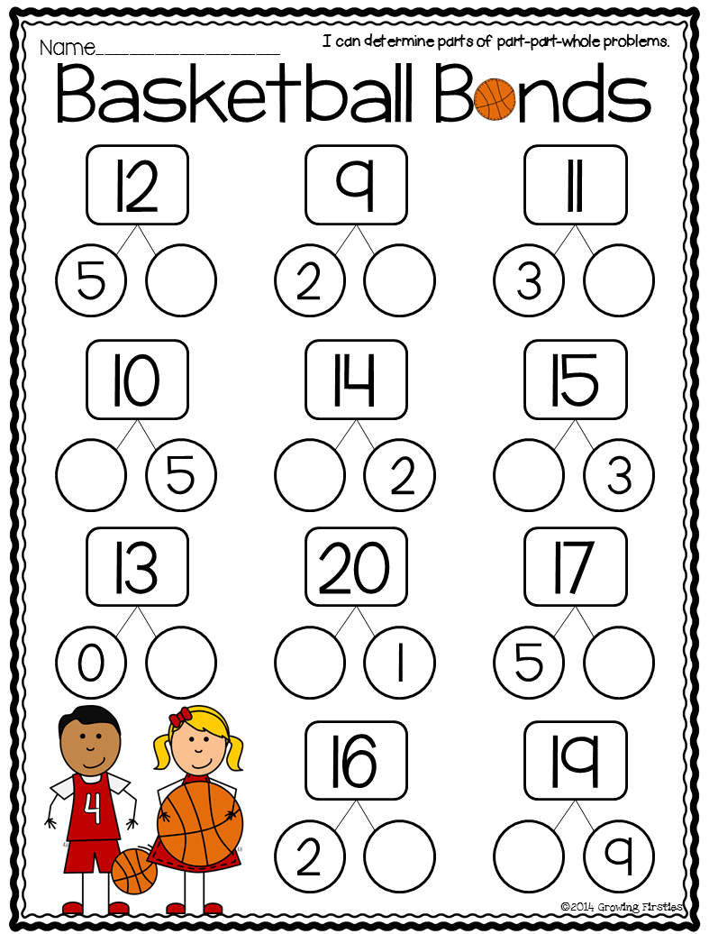 Part Part Whole and March Printables | Common cores, Math and March