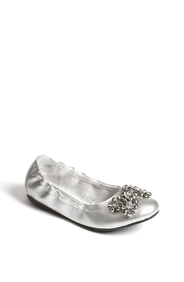 0156f3392900d sparkly silver shoes for flower girls