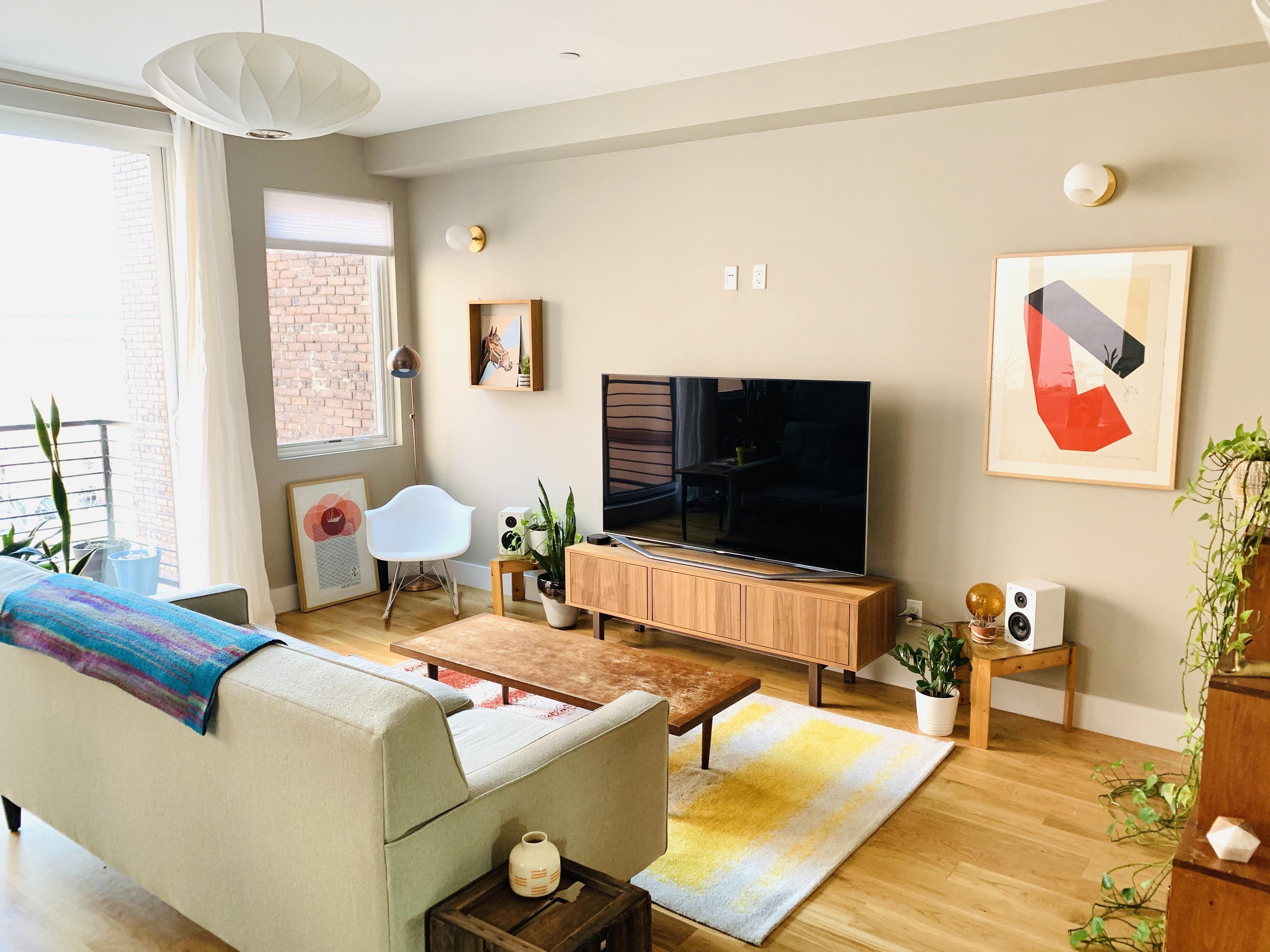 Living Room, Brooklyn NY : AmateurRoomPorn | Living room ...
