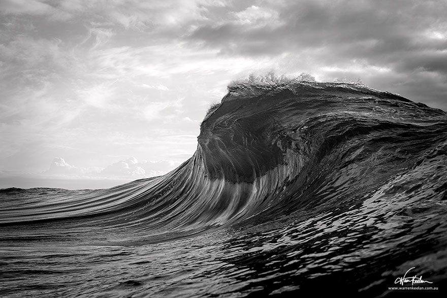 These Ocean Images Are Beautiful And Make Stunning Backdrops - Incredible photographs of crashing ocean waves by ben thouard