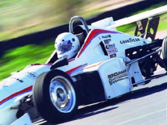 Drive a racecar