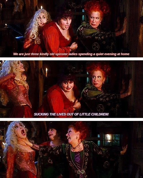 sanderson+sisters+memes | Hocus Pocus Quotes in 2019 | Best ...