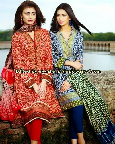 Khaadi Lawn 2015-16 Vol-2 Catalogue | Khaadi Summer Collection 2015 Vol-2 ~ She-Styles | Fashion Blog