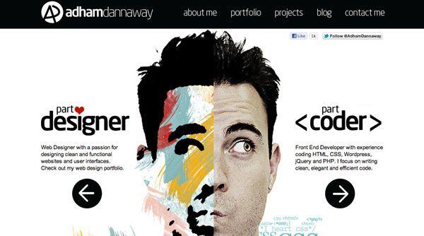 Excellent Graphic Designer Website Designs 30 Examples Portfolio Web Design Portfolio Website Design Portfolio Design