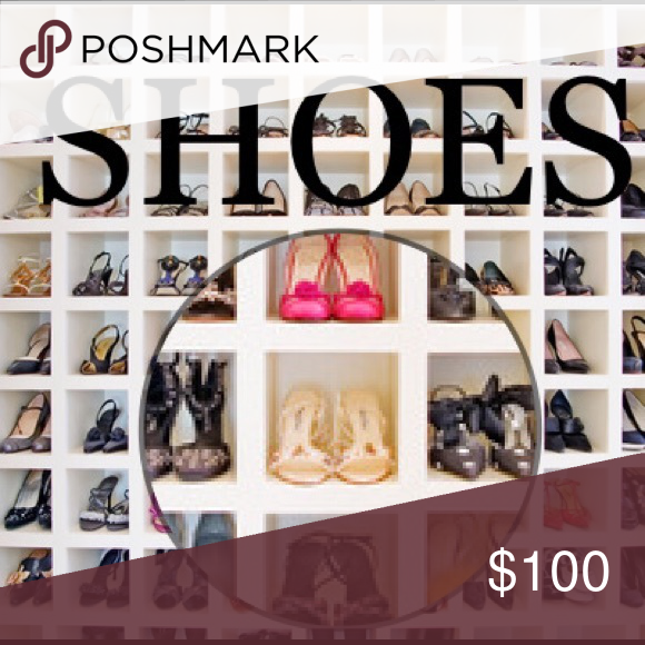 Shoes👠👡👢 Check out my closets wide range of shoes! Shoes