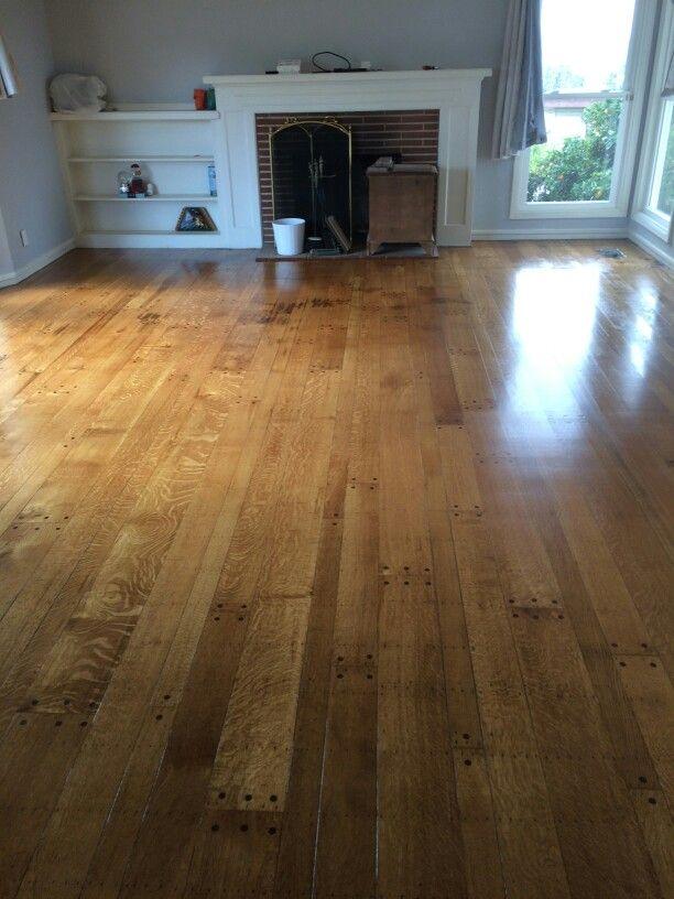 Duraseal Nutmeg With Oil Based Finish On Antique White Oak