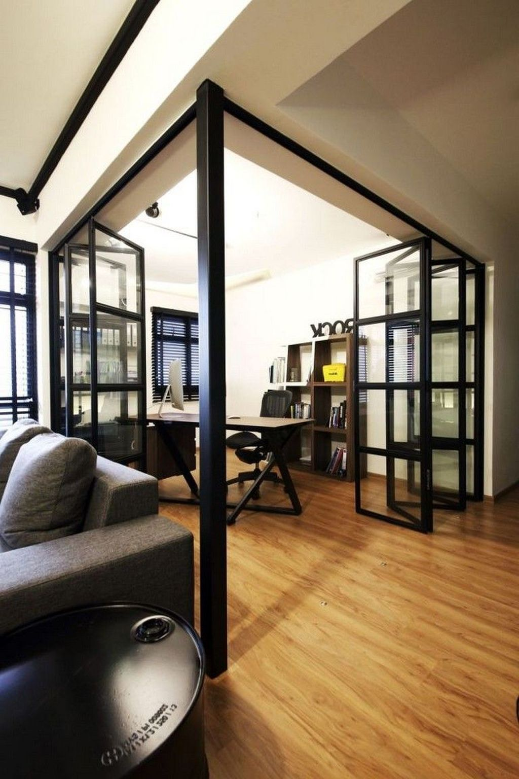 37 Amazing Glass Partition For Your Living Room in 2020