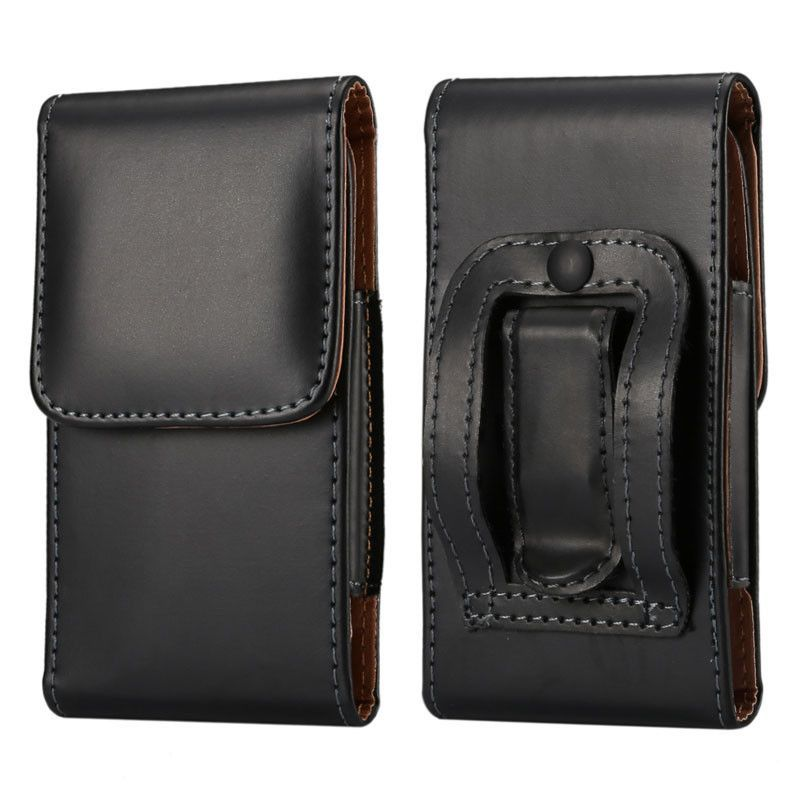 Pu leather pouch belt clip case holster for apple iphone 7