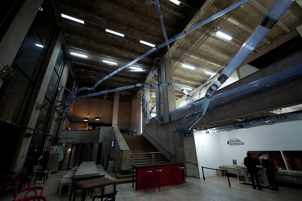 Serge Spitzer Palais De Tokyo Pneumatic Tube System Building