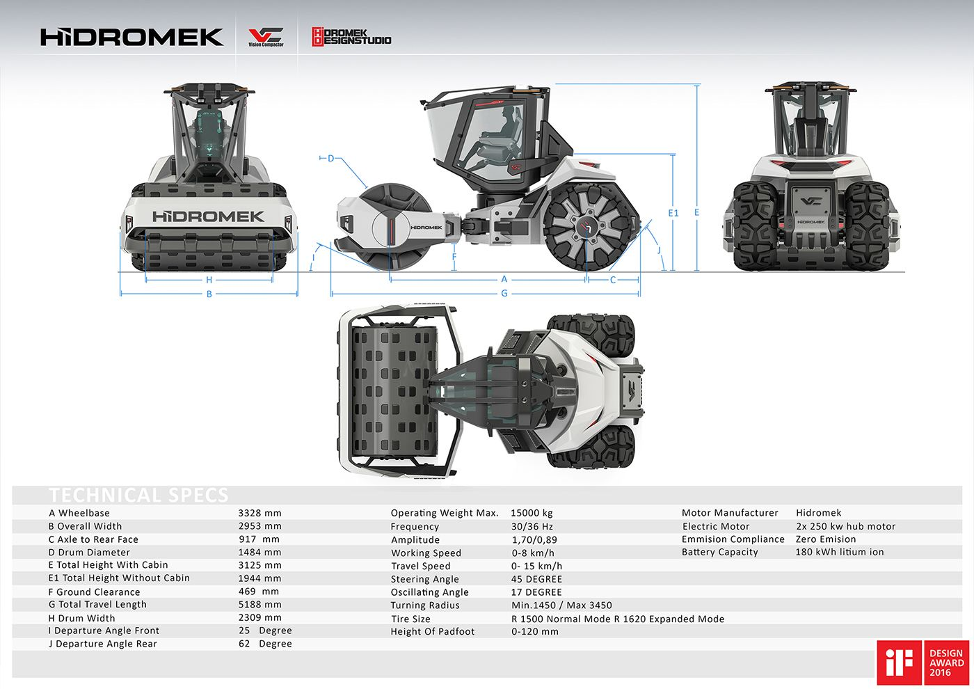 Hidromek Vision Compactor On Behance