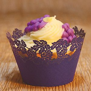 Grapes Cupcake Wrapper