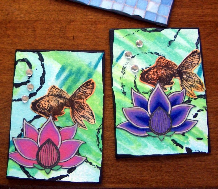 Julies journal artist trading cards atcs atc ideas pinterest artist trading cards are like little works of art 2 x 3 traditionally they were used by artists as sort of a business card from reheart Choice Image
