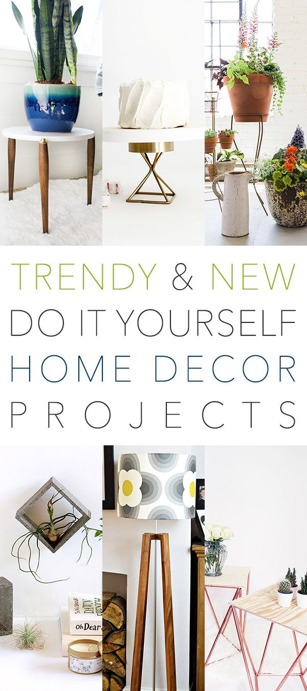 New & Trendy DIY Home Decor Projects | DIY ideas, Craft and Craft corner