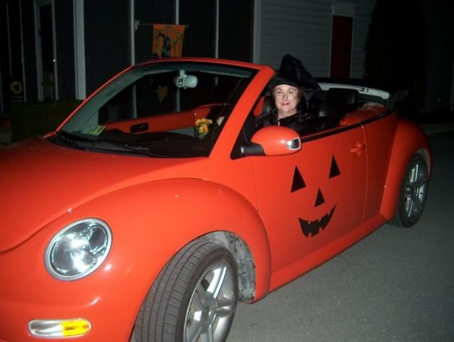 13 Coolest Halloween Pimped Cars - halloween cars Pinterest - halloween decorated cars