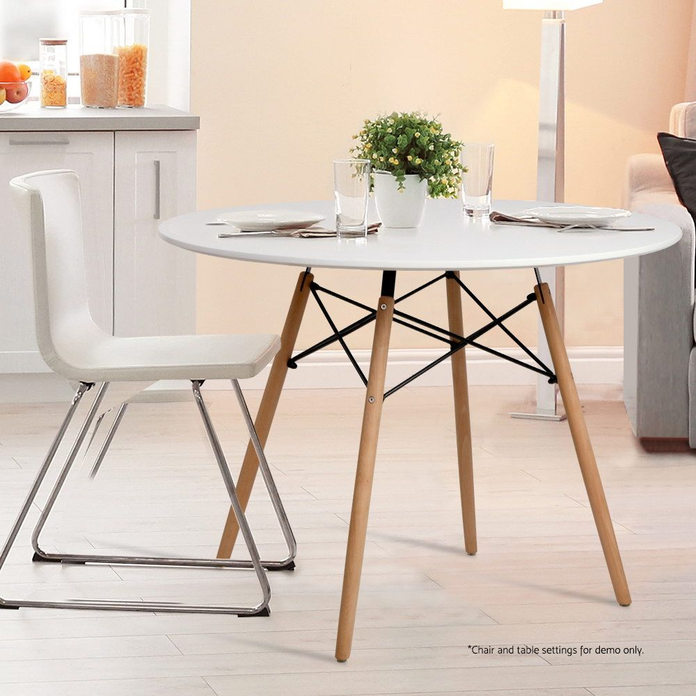 Replica 100 Cm Eames Eiffel Round Dining Table Online Only
