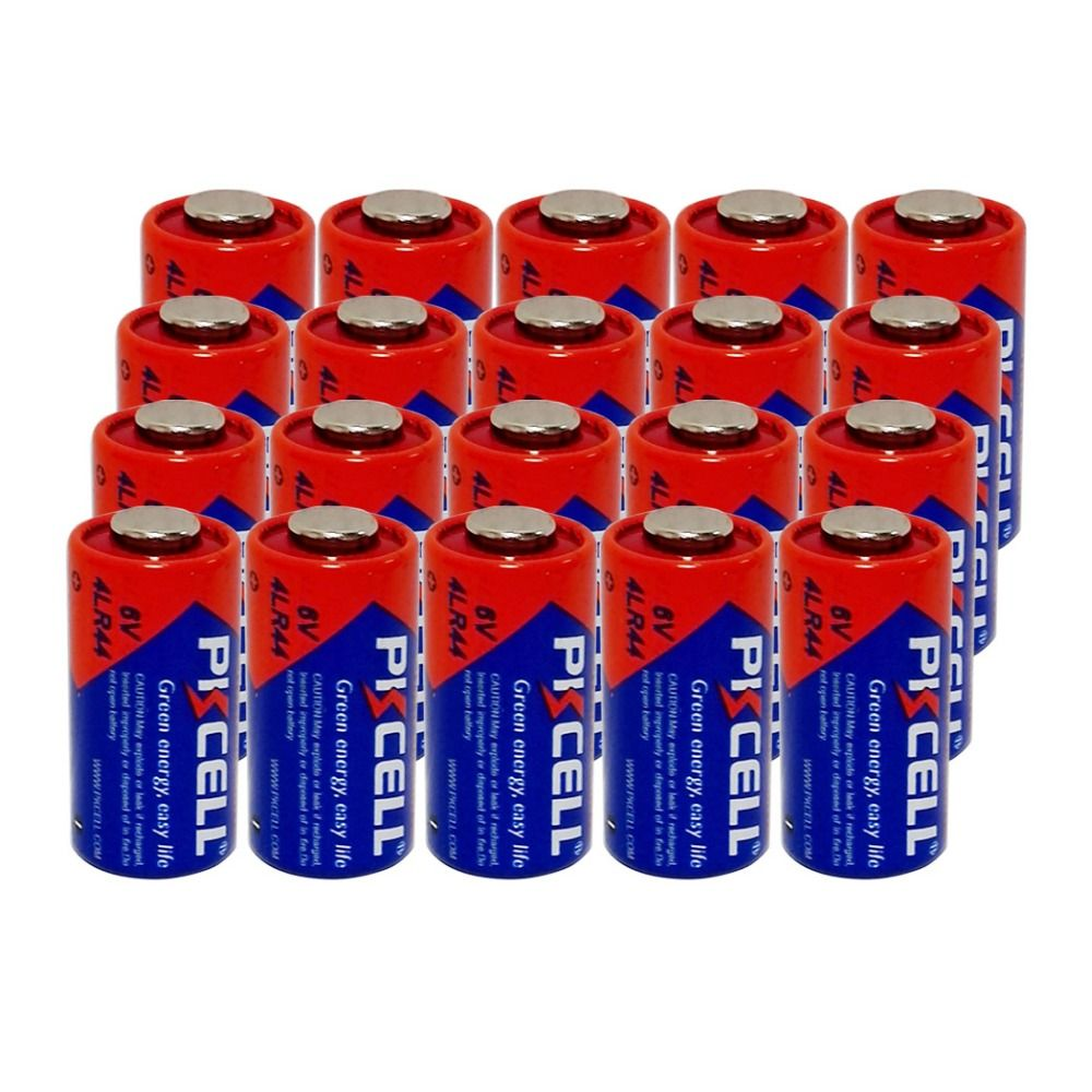 20pcs Lot Pkcell Battery 6v 4lr44 L1325 Px28a 476a A544 28a Alkaline Battery Batteries Bateria Alkaline Battery Battery Batteries