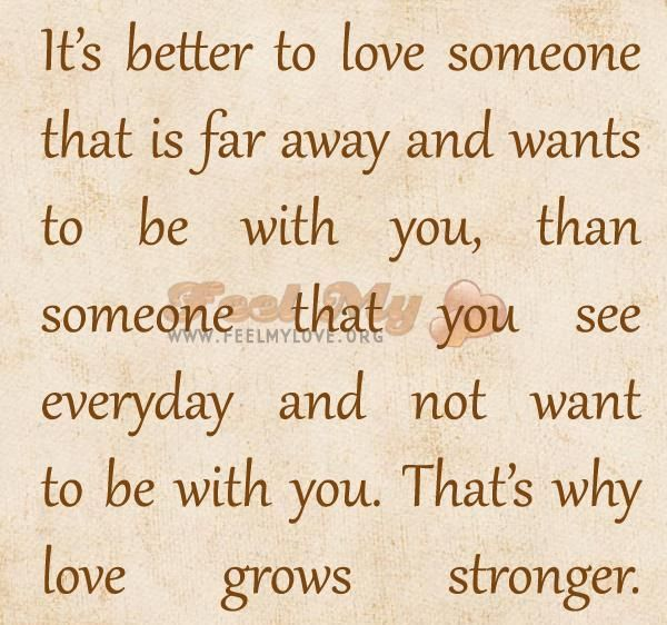 Quotes About Loving Someone Far Away: Love Quotes For Him Far Away. QuotesGram