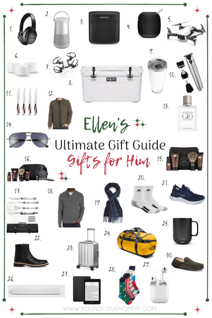 Ultimate Men's Gift Guide Tech gifts for men, Romantic