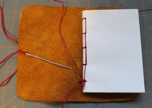 how to make a homemade sketchbook