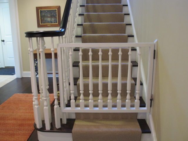 Attractive Gates Fot Steps | Best Baby Gates For Bottom Of Stairs
