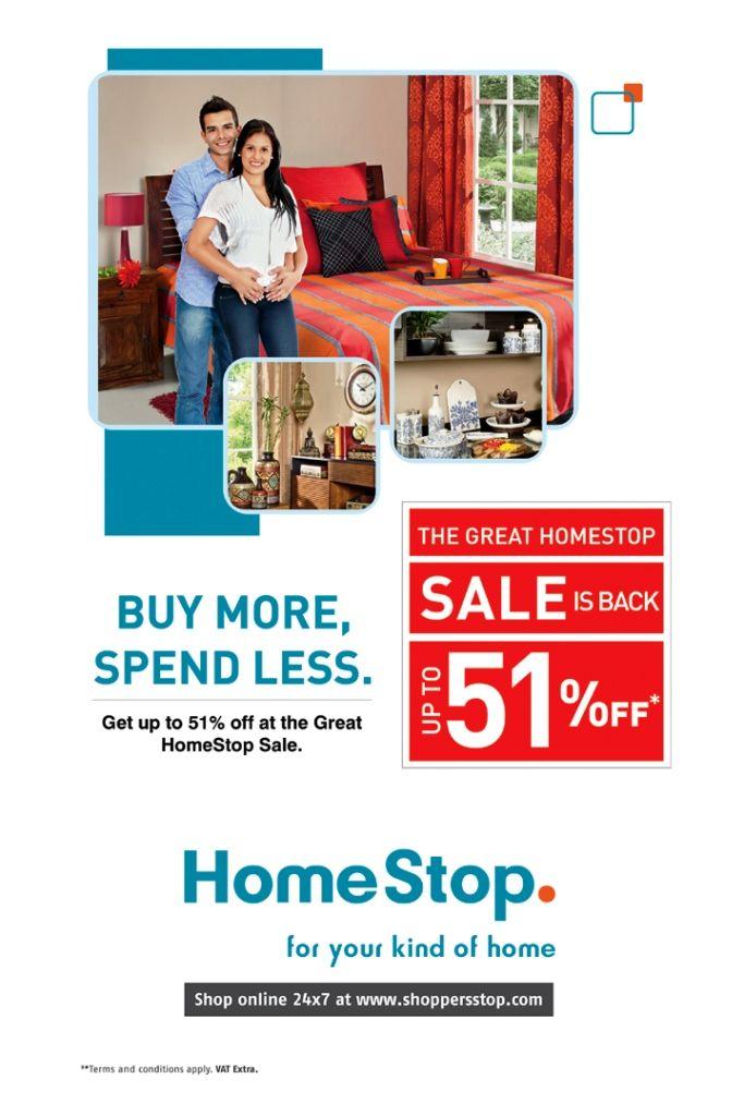 Buy more spend less at Homestop, Inorbit Cyberabad