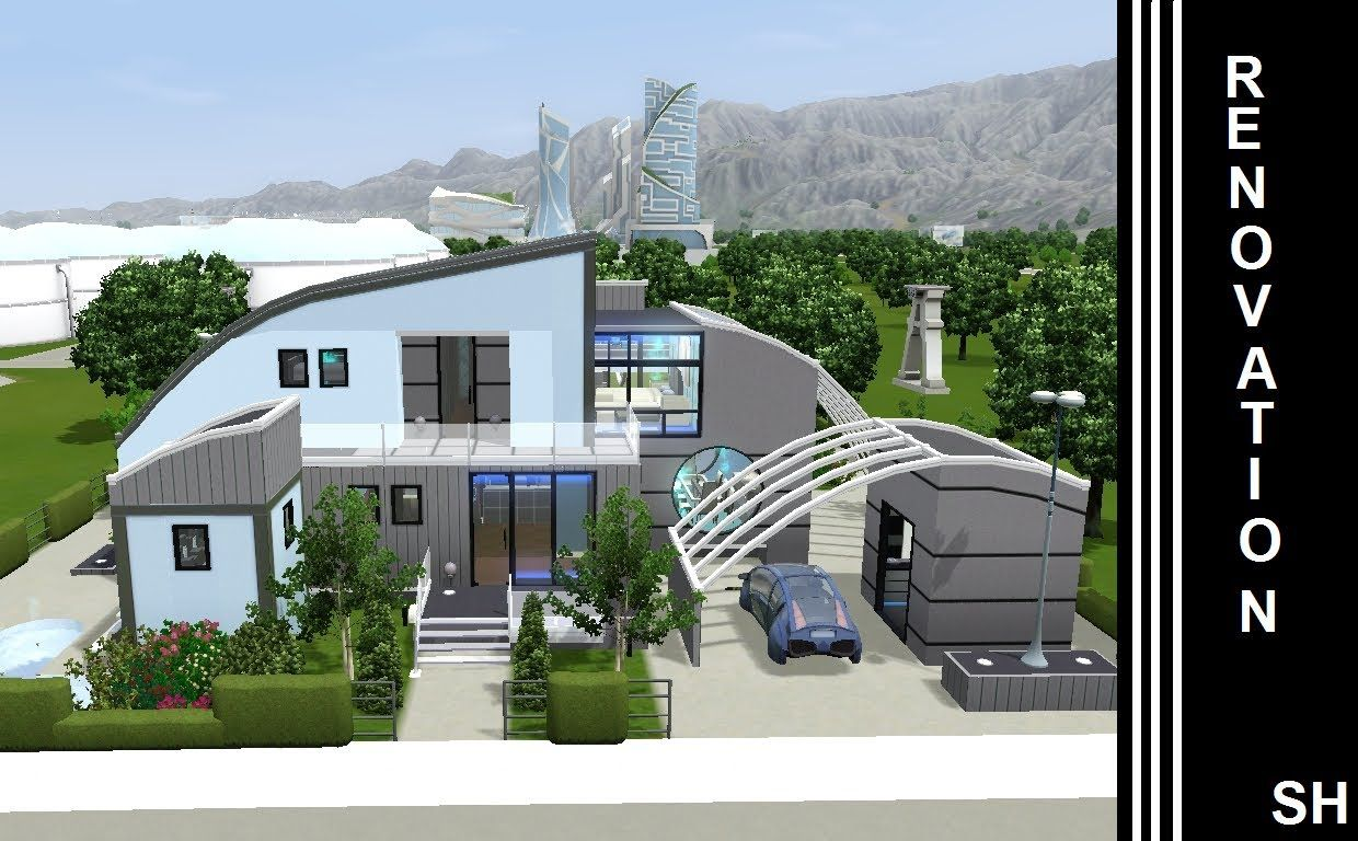 The Sims 3 - Into The Future - House Renovation - 1st   THE