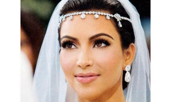 Bijou De Front Kim Kardashian Bijoux De La Tete Aux Pieds
