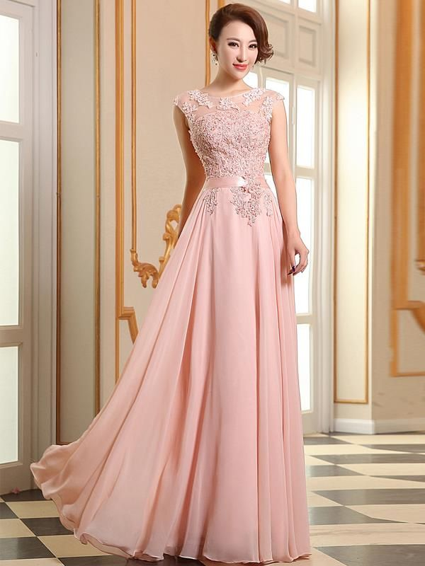 Blush Bridesmaid Dresses with \