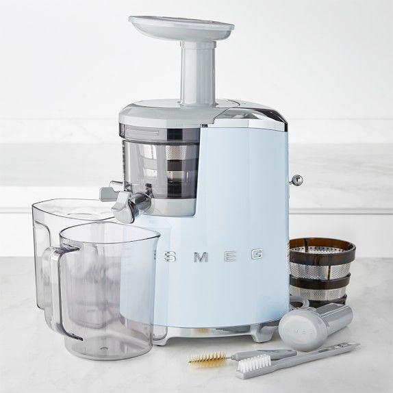 Smeg 50 S Style Slow Juicer Smeg Juicer Juicer Recipes