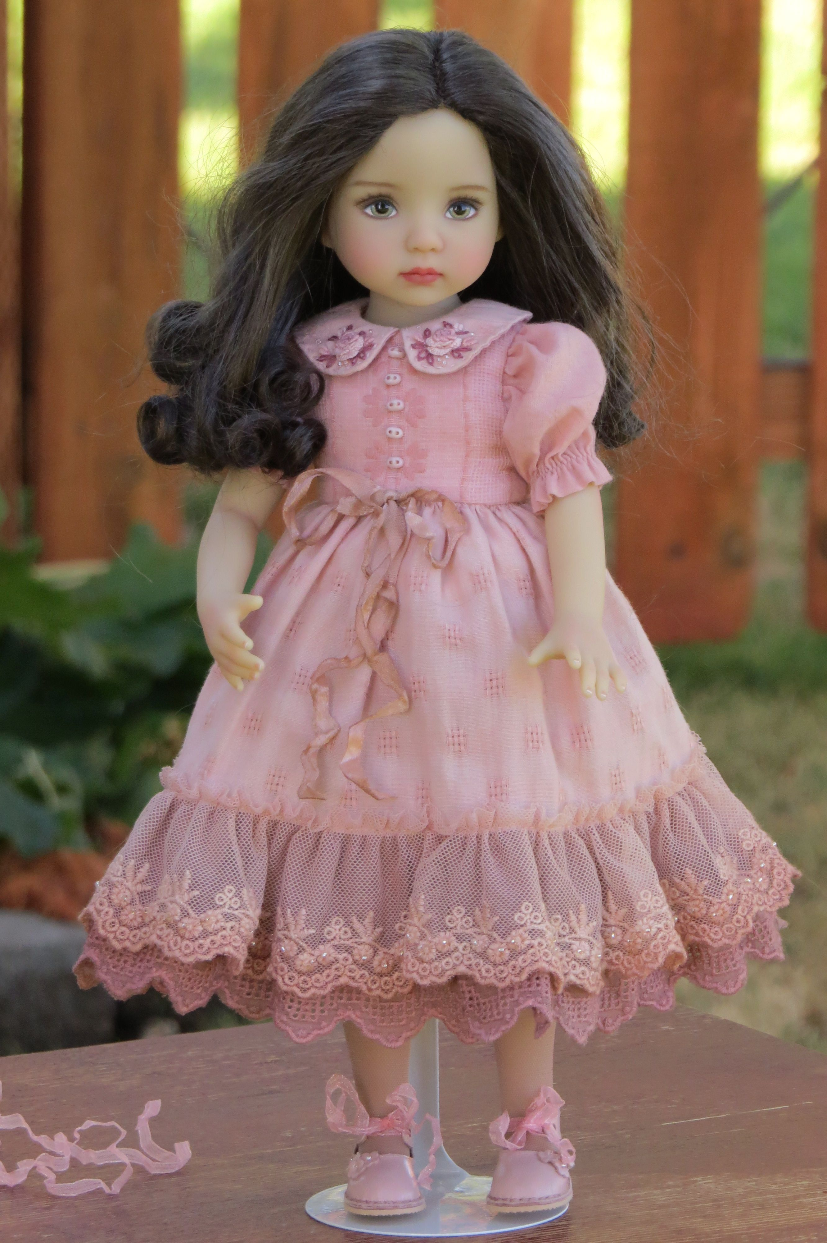 Pin by Norma Kosse on My Dolly Habit Doll dress patterns