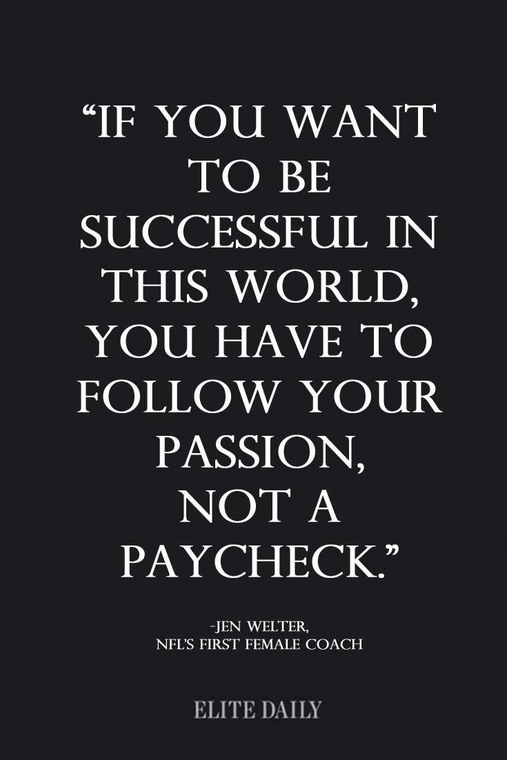 Inspirational quotes for career women. #Quotestoliveby  Positive