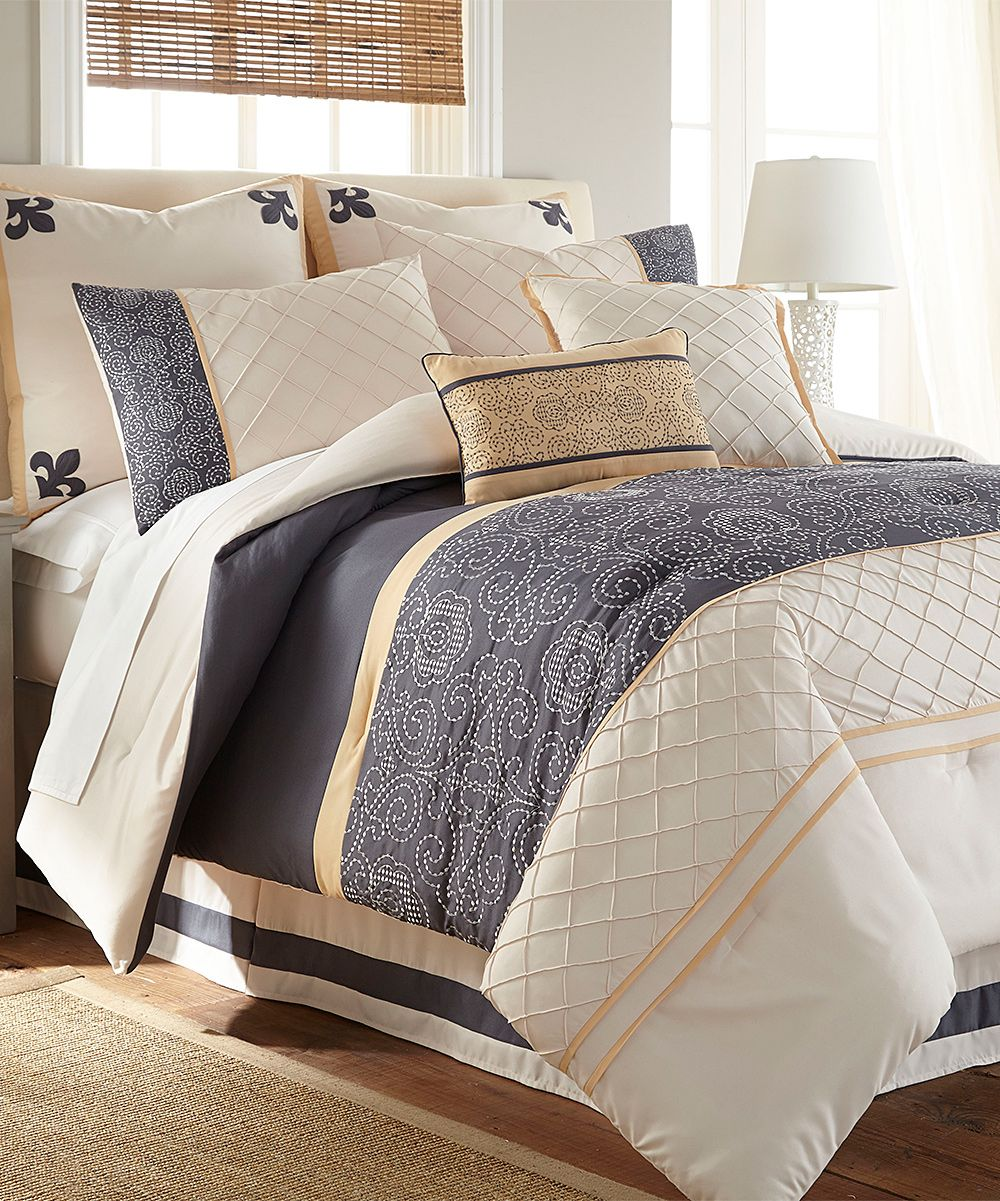 Lyra Eight Piece Comforter Set Comforter Sets Luxury Comforter