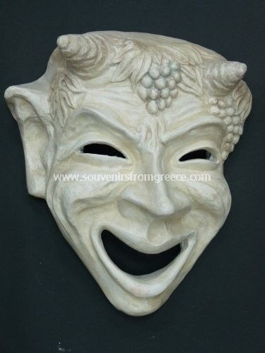 masks of greek comedy - Google Search A very traditional Pan image ...