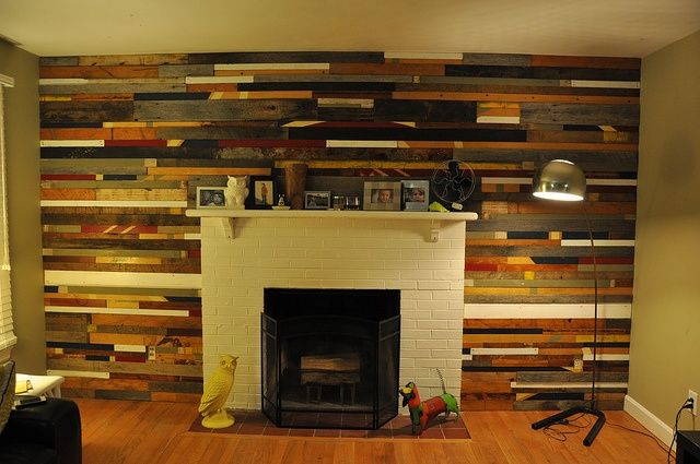 30 Inspiring Accent Wall Ideas To Change An Area | Farmhouse ...