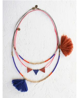 Necklaces by April Showers by Polder, available online at Couverture http://www.couvertureandthegarbstore.com/Shop-Online/Childrens/#/april_showers_by_polder/all_items